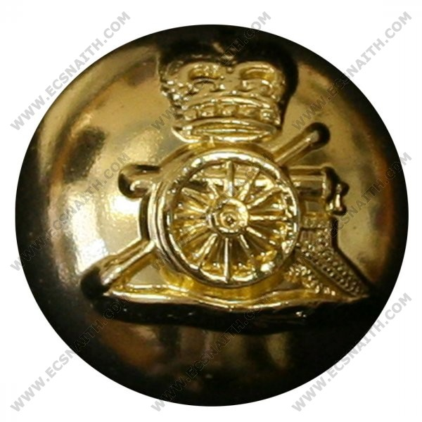 Royal Horse Artillery Button, Ball, Anodised (22L)