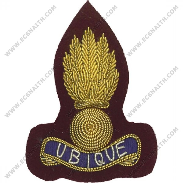 Royal Engineers Beret Badge, Officers, PARA