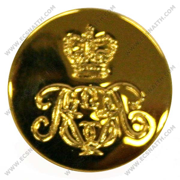 Royal Engineers Assosiation Cypher Button, Indented, Blazer (22L)