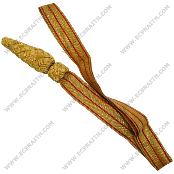 Army Sword Knot Gold / Red