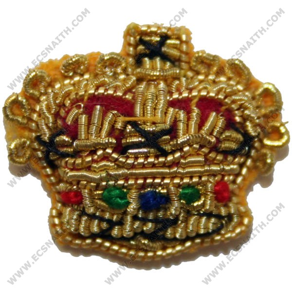 """Crowns Gold 1/2"""""""