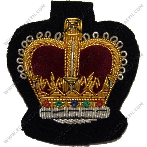 Gold On Black No.1 Dress Badge (WO2)