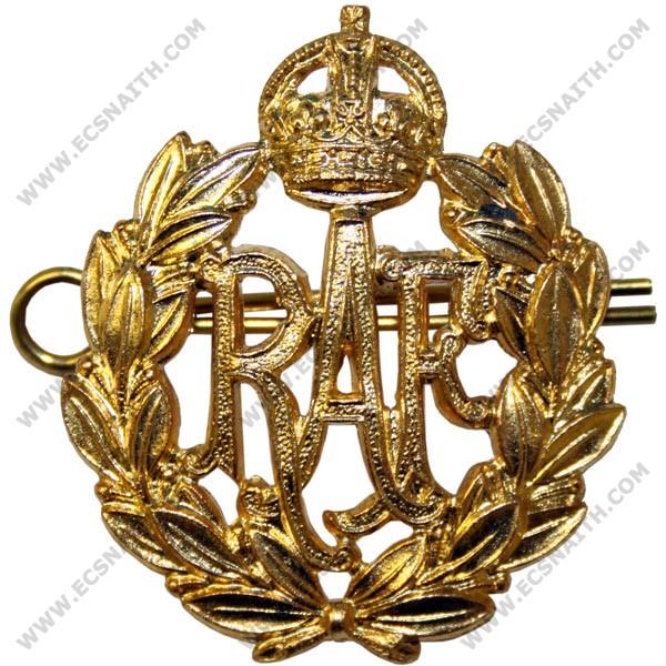 Royal Air Force Beret Badge, GV1R, Brass