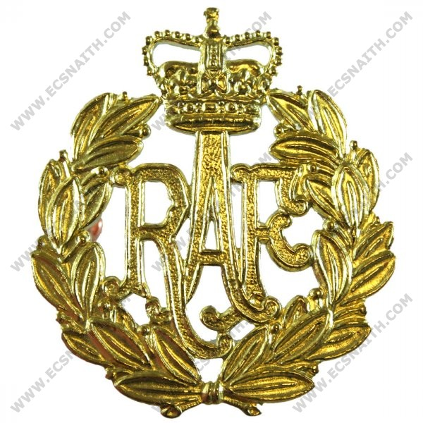 Royal Air Force Beret Badge, E11R, Brass