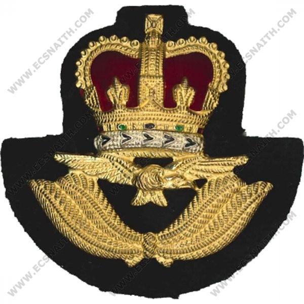 Royal Air Force Cap Badge, Officer, Metal