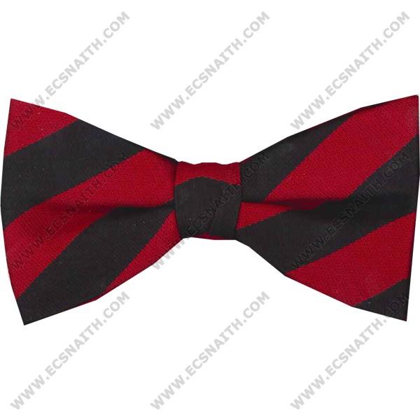 RAF Police Striped Bow Tie