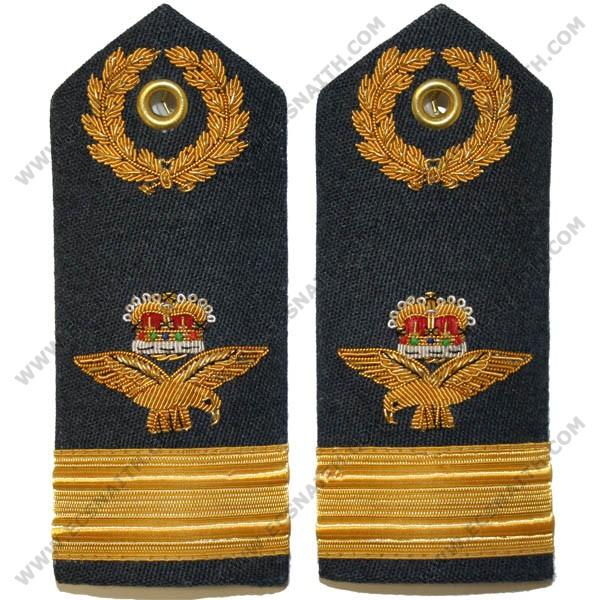 RAF Air Commodore 6A, 8, 11 Dress Shoulder Boards