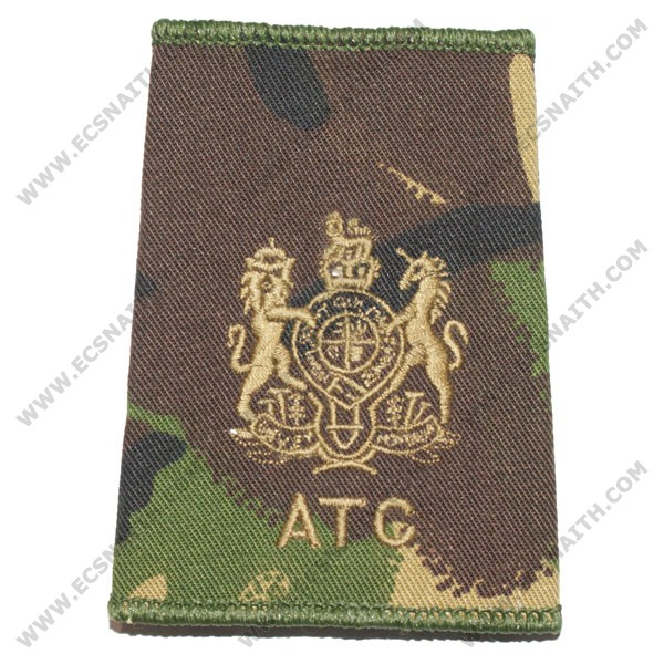 ATC Rank Slides, CS95, (WO), Royal Arms