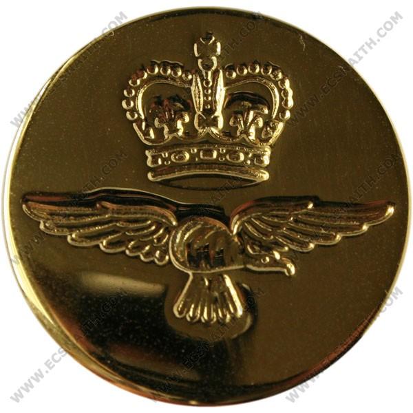 Royal Air Force Button, Blazer, Gilt (26L)