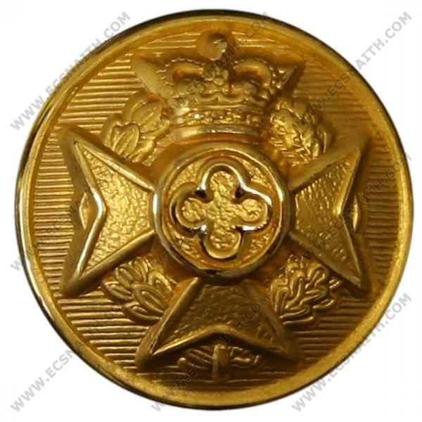 Royal Army Chaplains' Department Button, Gilt (24L)