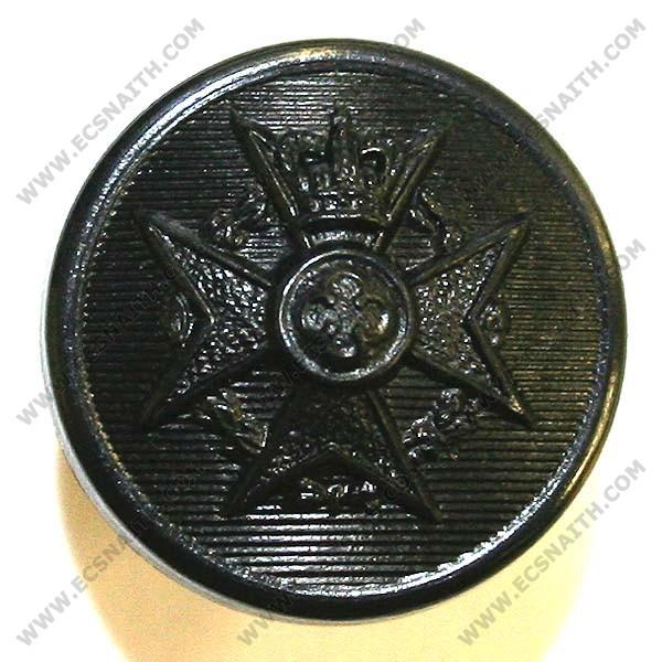 Royal Army Chaplains' Department Button, Black (27L)