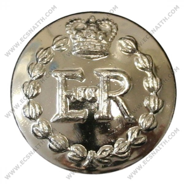 Royal Military Police Button, Silver Anodised (22L)