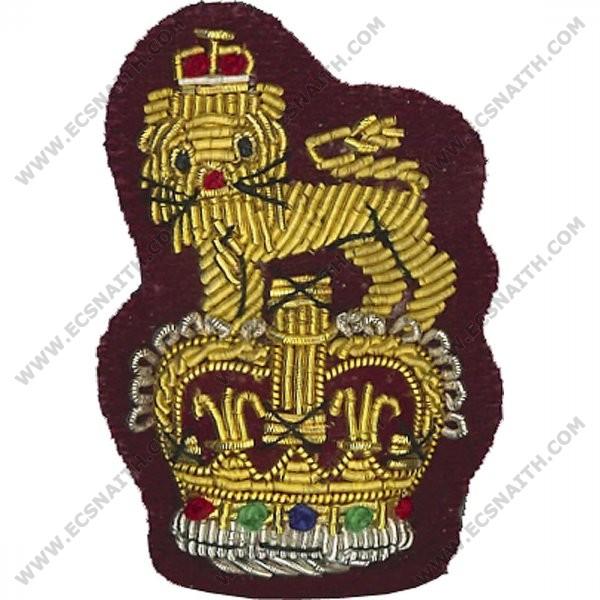 Beret Badge, Staff, Maroon