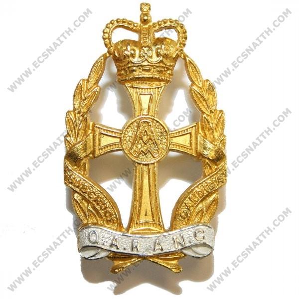 QARANC Cap Badge, Officers