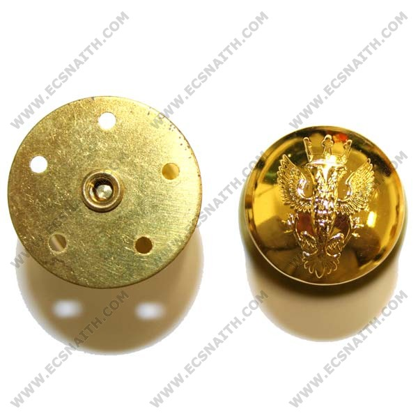 Mercian Button, Gilt, Screw Fitting (30L)