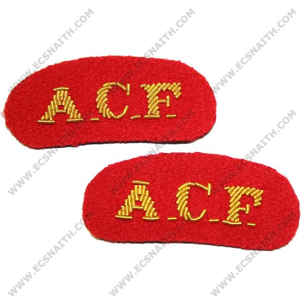 ACF Mess Titles On Red