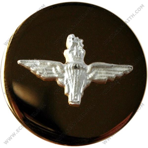 Parachute Regiment Button, Mounted, Flat (Small)