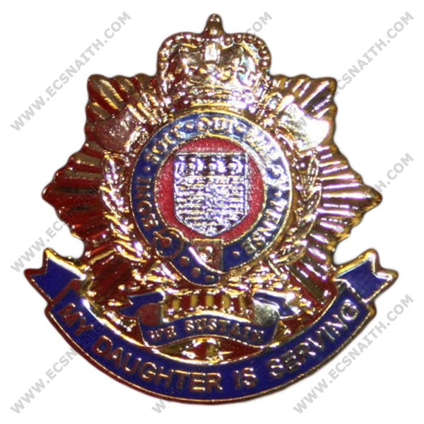 Royal Logistic Corps Daughter Sweetheart Brooch