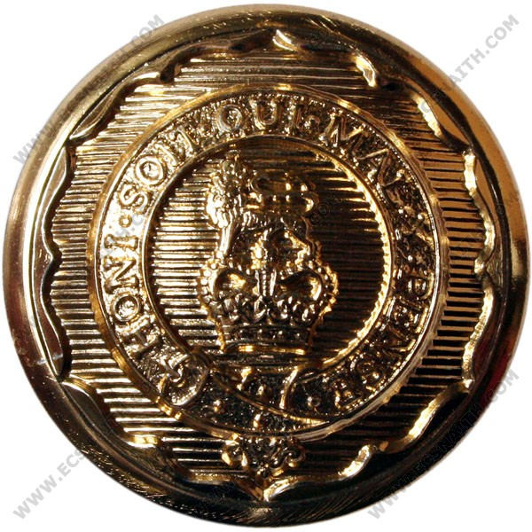 Royal Logistic Corps Button, Anodised (30L)
