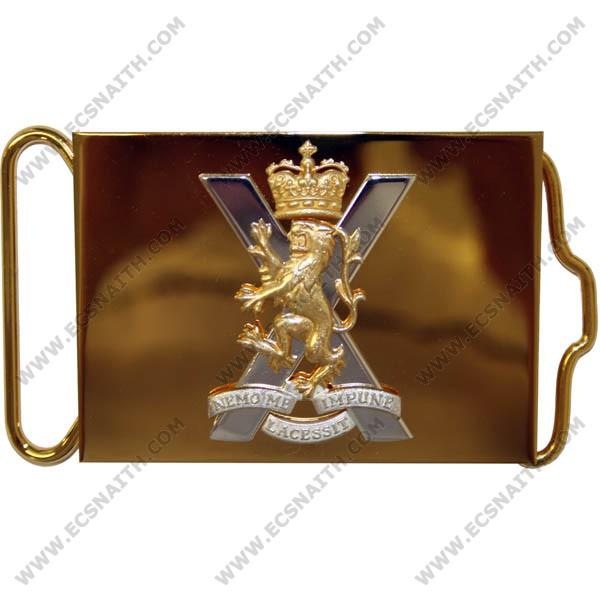 Royal Regiment Of Scotland Waist Belt Plate