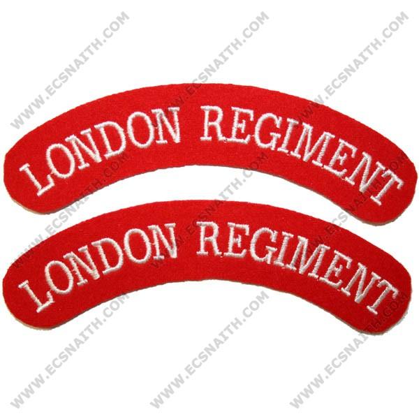 London Regiment Titles