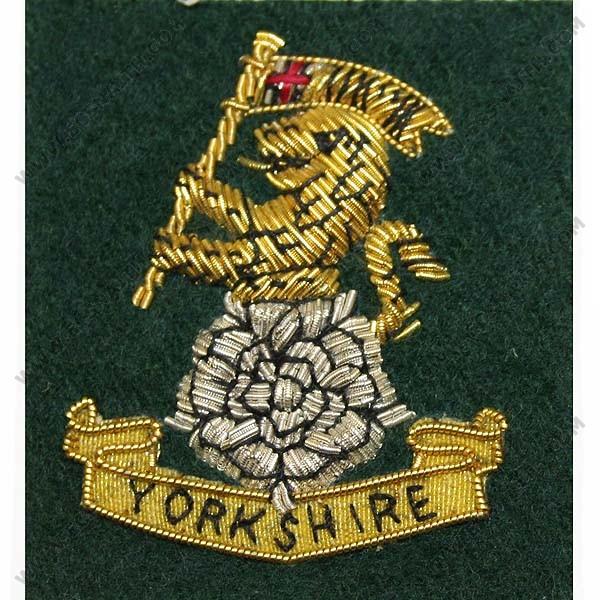Yorkshire Regiment Side Hat Badge