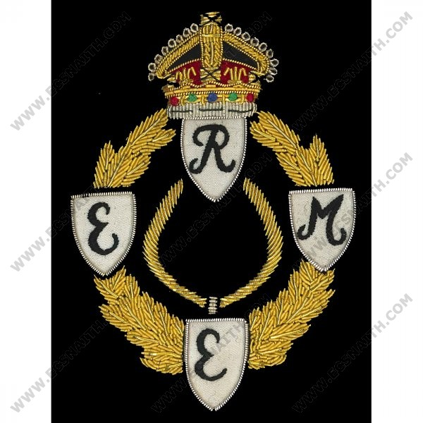 REME WW2 Wire Blazer Badge GV1R
