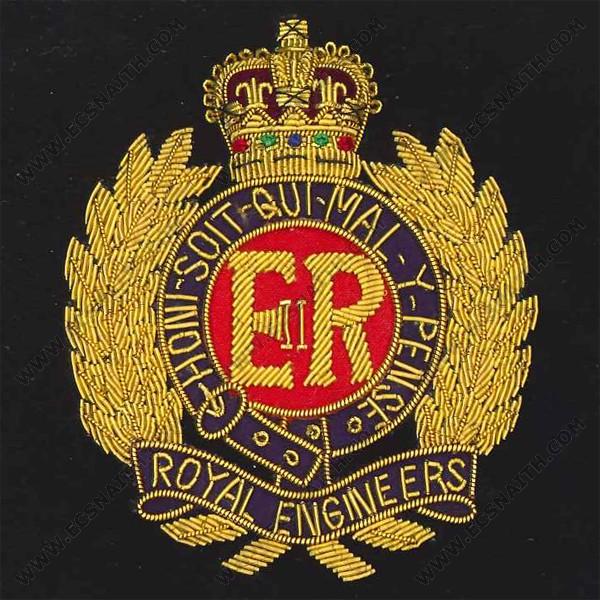 RE Wire Blazer Badge