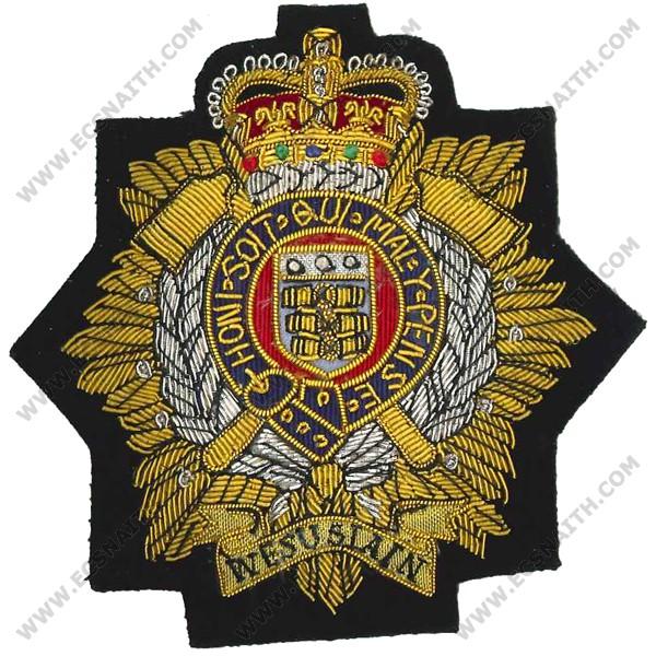 RLC Wire Blazer Badge