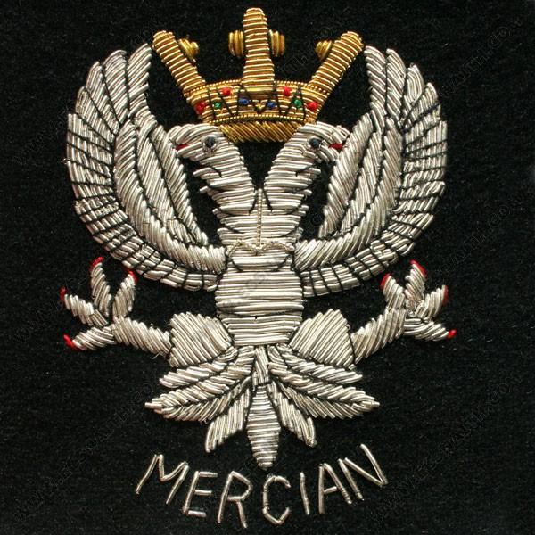 Mercian Wire Blazer Badge