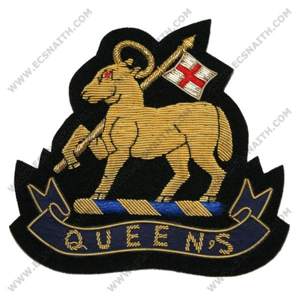 07005c9f099 West Surrey (Gold Lamb & Queen) Wire Blazer Badge - E.C.Snaith and Son Ltd