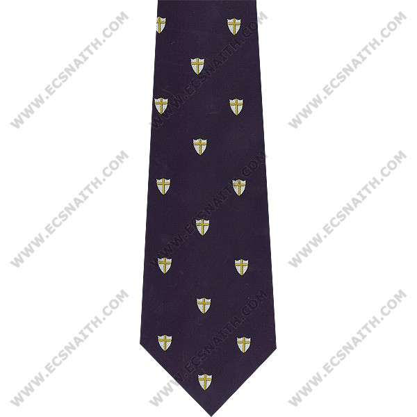 8th Army Crested Tie