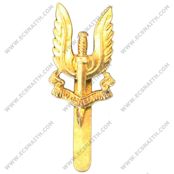 Special Air Service Beret Badge, Brass