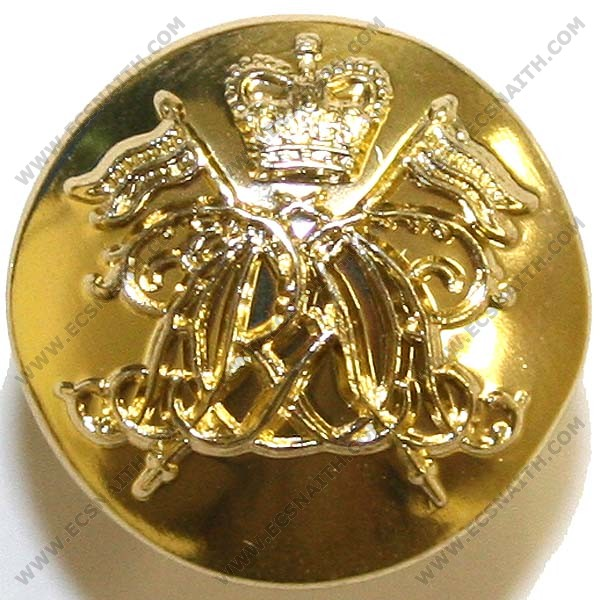 9th/12th Lancers Button, Anodised (22L)