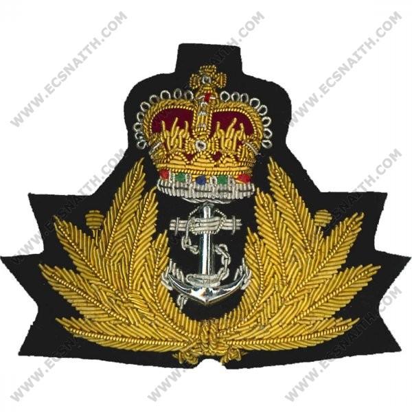 Royal Navy Cap Badge Officers E C Snaith And Son Ltd