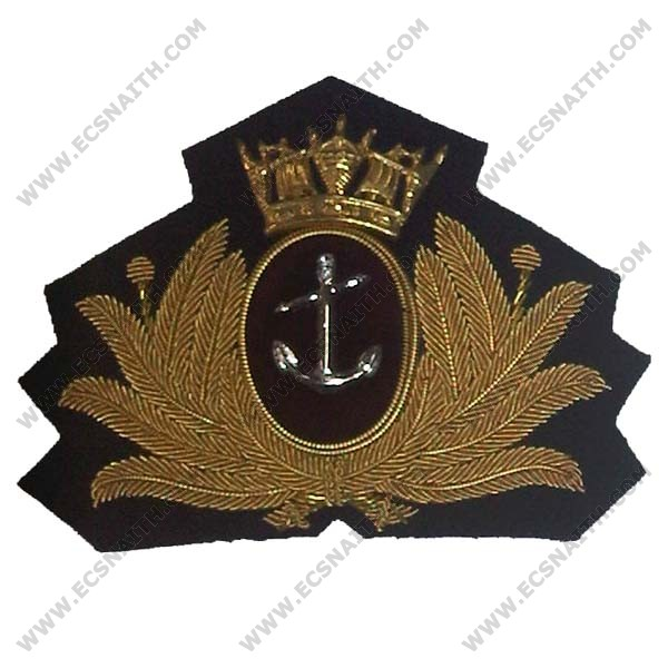Merchant Navy Cap Badge, Officers, Bombay Style