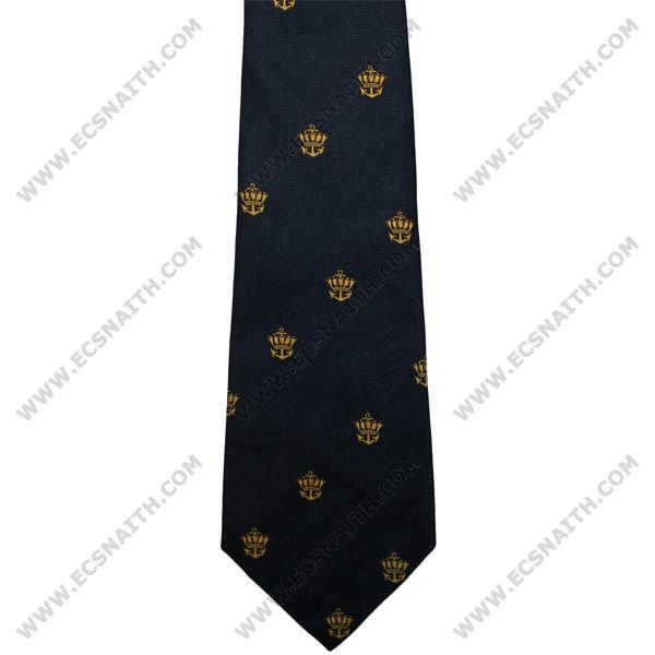 Merchant Navy  Crown & Anchor Tie