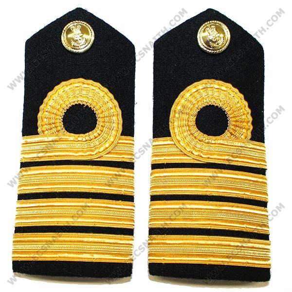 RN Captain Shoulder Boards - E.C.Snaith and Son Ltd