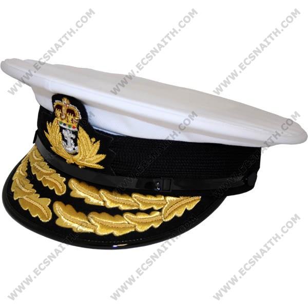 8e93543e4db Royal Navy Flag Officers Cap - E.C.Snaith and Son Ltd