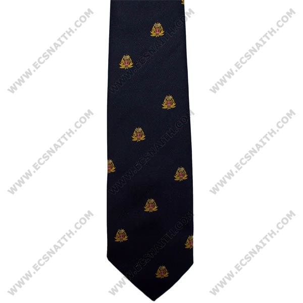 Merchant Navy Crown And Anchor Polyester Tie
