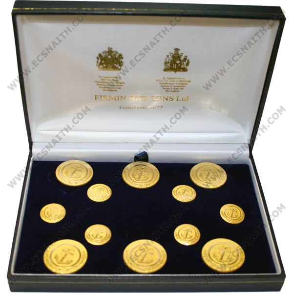 Special Edition Lord Admiral Nelson Buttons