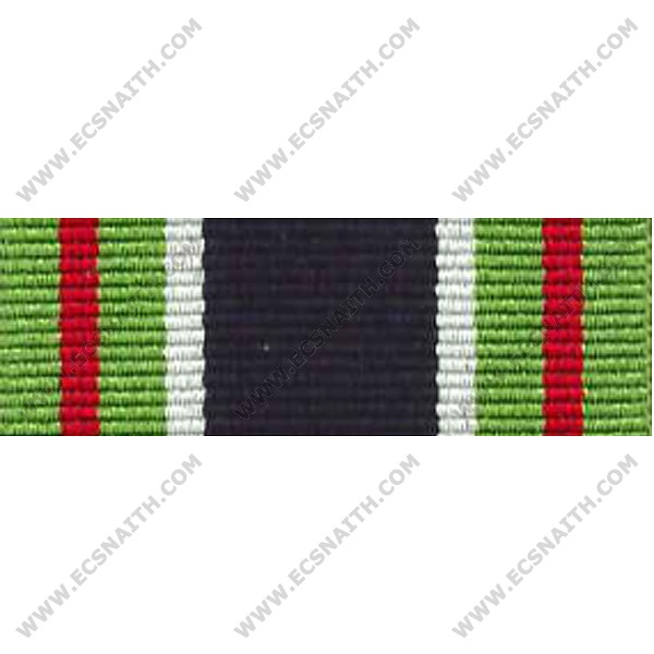 Colonial Police Gallantry, Medal Ribbon