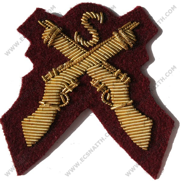 Sniper Gold On PARA Maroon Badge