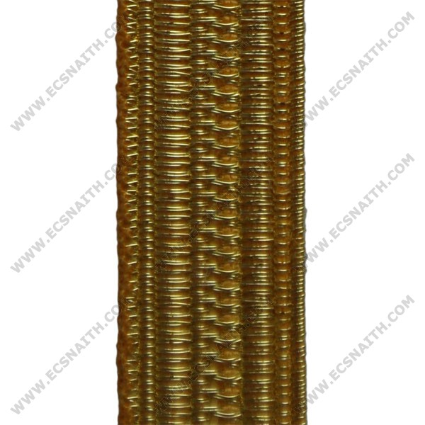 "1/4"" Gold Naval Lace"