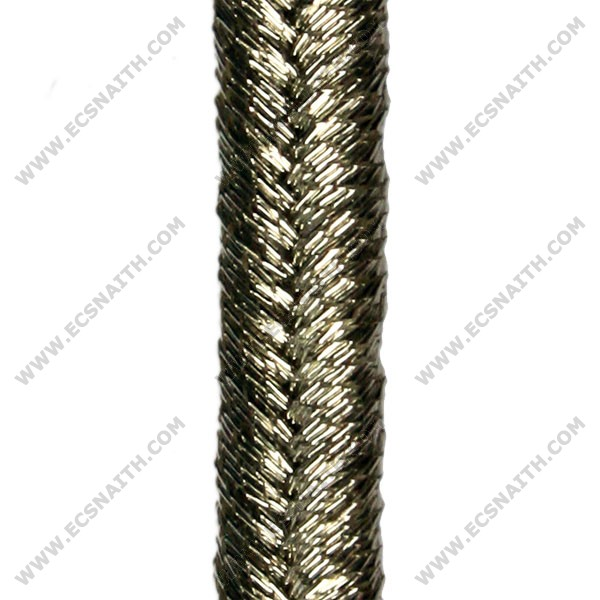 Silver Russia Braid 4mm