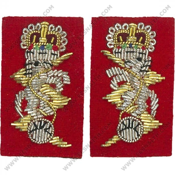 REME Female Officers Collar Badge