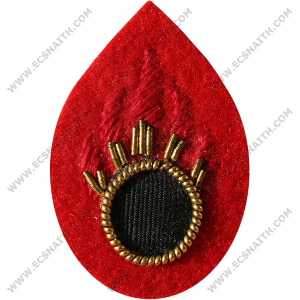 RLC Ammo Examiner Scarlet Badge