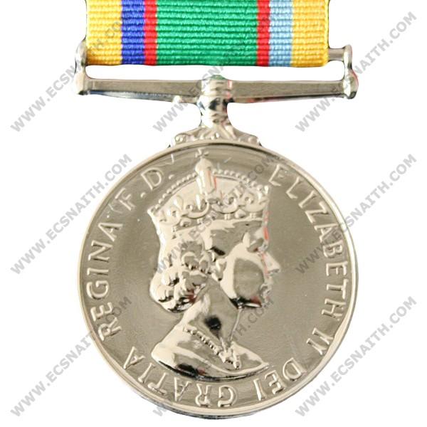 Cadet Forces, E11R, Medal
