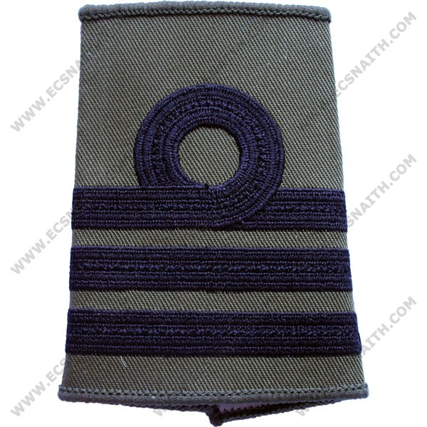 RN Rank Slides, Olive Green, (Cdr)