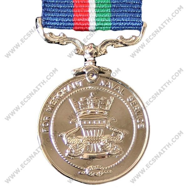 Merchant Navy Service, Medal (Miniature)